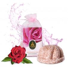 Пралине для ванны «Царственная роза» с маслом персика и розовой глиной